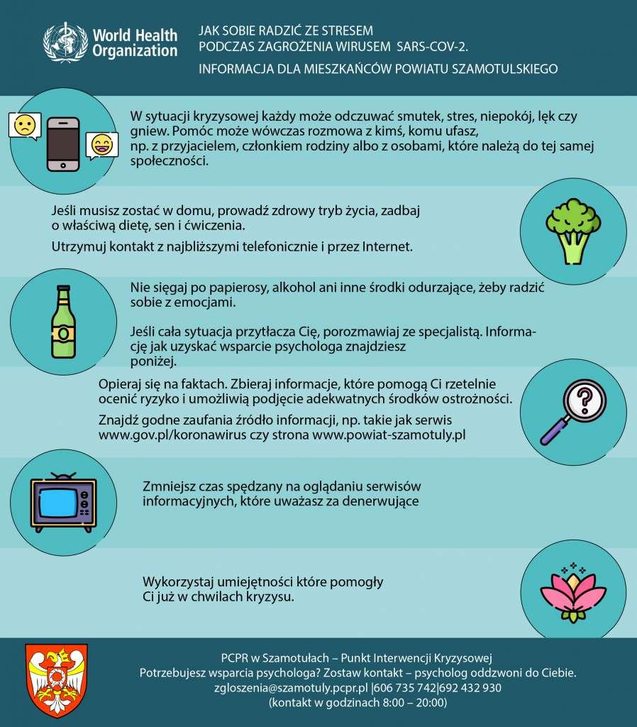 Jak sobie radzić ze stresem podczas zagrożenia wirusem COVID 19